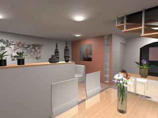 Flat 144: Salle à manger de style  par nauconcept