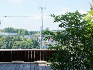 富士山テラス: 松岡淳建築設計事務所が手掛けた庭です。,
