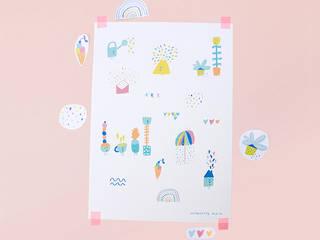 Affiche Spring:  de style  par Charlotte Klein