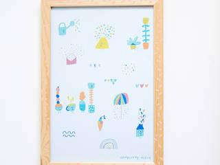 """Affiche A4 / """"Spring"""":  de style  par Charlotte Klein"""
