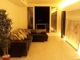 Salon moderne par CUADRAT PINEN ARQUITECTES Moderne
