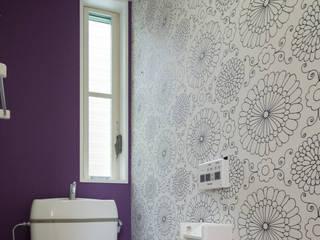 M設計工房 Scandinavian style bathroom Textile Purple/Violet