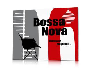 Tableau Nova Casa Rouge:  de style  par Qora Shaï