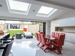 Rear extension : modern  by GK Architects Ltd, Modern