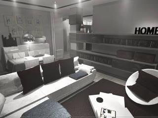 Ruang Keluarga oleh [ interitect ], Minimalis