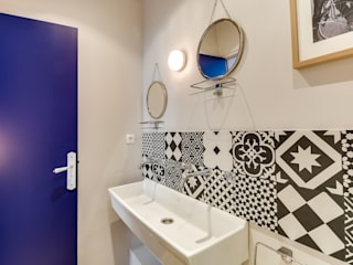 Scandinavian style bathroom by blackStones Scandinavian
