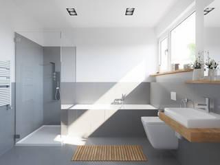 Modellbeispiel Badezimmer:   von Dynahaus GmbH & Co. KG
