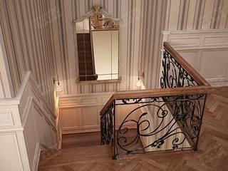 Classic style corridor, hallway and stairs by Дизайн студия Ольги Кондратовой Classic