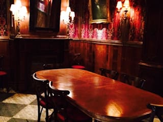 London Ninth Ward Bar & Restaurant Farringdon road,london Eclectic style bars & clubs by woodstylelondon Eclectic