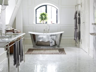 Drummonds Case Study: European Retreat, Denmark Drummonds Bathrooms Salle de bain scandinave