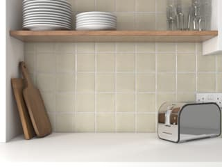 Kitchen Tiles par The London Tile Co. Rustique