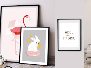 Illustrations Adel Fabric par Adel Fabric Scandinave
