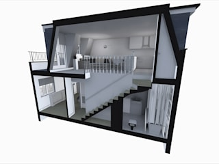 Barsbury Street (3D Design): modern  by GK Architects Ltd, Modern