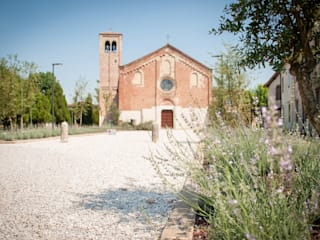 Sant'Agostino: Giardino in stile  di exTerra | Consulenze ambientali e Design nel verde