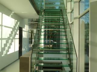 Woonhuis te Best Moderne gangen, hallen & trappenhuizen van Snep Exclusieve Metalen BV Modern