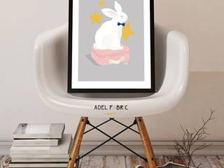 Lucien le lapin par Adel Fabric Scandinave