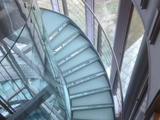 Eurocontrol te Maastricht Moderne kantoorgebouwen van Snep Exclusieve Metalen BV Modern