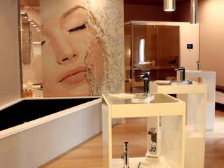 Sansone Home - Showroom Spa moderna di A.SAnnino & L.Sagliocco ARCHITETTI ASSOCIATI Moderno