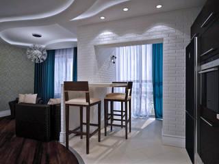 Современная квартира: Кухни в . Автор – Студия дизайна и декора Алины Кураковой