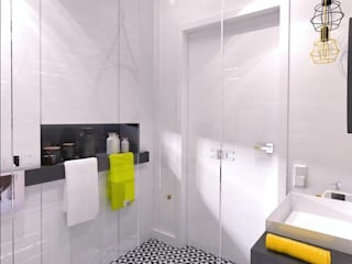 The Vibe Industrial style bathroom