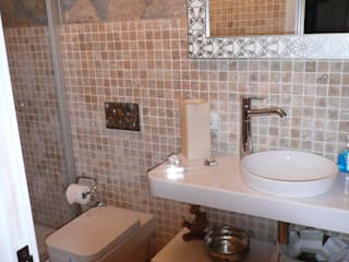 EKa MİMARLIK Rustic style bathroom