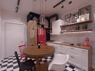 The Vibe Industrial style kitchen