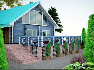 дизайнер Алина Куракова บ้านและที่อยู่อาศัย