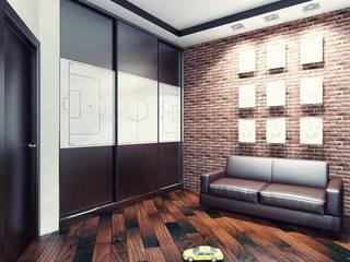 Dormitorios infantiles de estilo minimalista de Студия дизайна и декора Алины Кураковой Minimalista