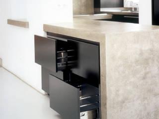 Betonküche:   von Atelier Thomas Grögler