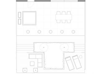 Tekening tuin:   door Studio Jasper Interior | Furniture