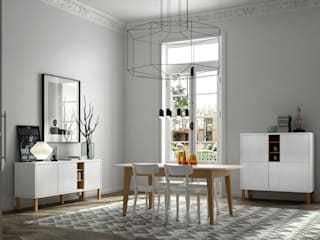 Niche with Pattern Collection / Cupboard, Sideboard and Dining Table por Temahome Minimalista