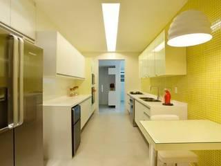 Nowoczesna kuchnia od Ricardo Melo e Rodrigo Passos Arquitetura Nowoczesny