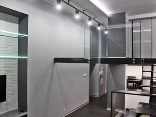 Single loft -- Lofty u Scheiblera,  Łódź  -- weloftdesign.com: styl , w kategorii Jadalnia zaprojektowany przez WE LOFT DESIGN