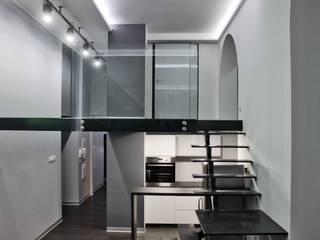 Single loft -- Lofty u Scheiblera,  Łódź  -- weloftdesign.com: styl , w kategorii Domowe biuro i gabinet zaprojektowany przez WE LOFT DESIGN