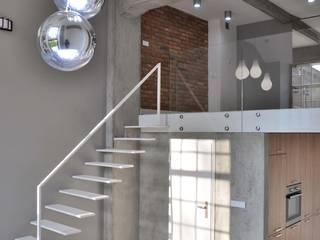 Salones de estilo industrial de WE LOFT DESIGN Industrial