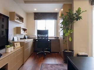 Style is Still Living ,inc. Eclectic style study/office