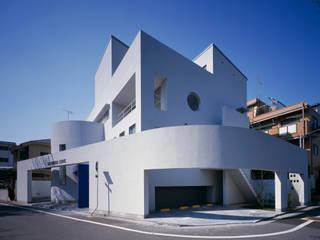 Sクリニック+住宅 モダンな医療機関 の 久保田章敬建築研究所 モダン