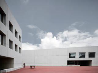Erweiterung Oberstufenschulzentrum und Neubau Dreifachsporthalle, CH-Tägerwilen Moderne Schulen von Graf Biscioni Architekten AG Modern