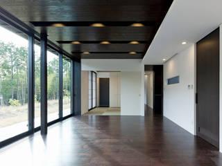 終の棲家 カントリーデザインの リビング の Egawa Architectural Studio カントリー