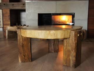 Stolik dębowy 150 lat: styl , w kategorii  zaprojektowany przez Old Wood Design