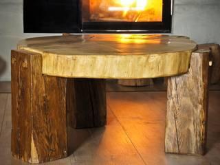 Stolik dębowy 150 lat: styl , w kategorii  zaprojektowany przez Old Wood Design,