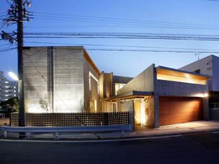 公園を臨む家 オリジナルな 家 の Egawa Architectural Studio オリジナル