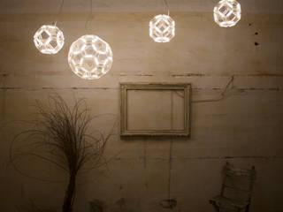 C8 ceiling / C60 ceiling - Fullerene collection - Davide Montanaro design: Paesaggio d'interni in stile  di kriladesign srl