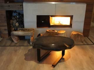 Stolik kawowy: styl , w kategorii  zaprojektowany przez Old Wood Design