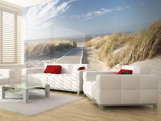 Vliestapeten Mediterrane Wohnzimmer von Hitmeister GmbH Mediterran