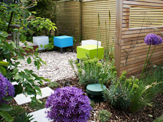 Wargrave Contemporary English Garden โดย Rosemary Coldstream Garden Design Limited โมเดิร์น