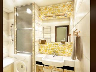 Phòng tắm phong cách kinh điển bởi Студия 'Облако-Дизайн' Kinh điển