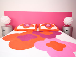 Modern style bedroom by Agence C+design - Claire Bausmayer Modern