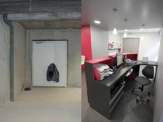 Modern clinics by Agence C+design - Claire Bausmayer Modern