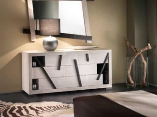 Camera da letto in stile in stile Mediterraneo di Rattania GmbH
